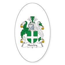 Hawley Oval Decal