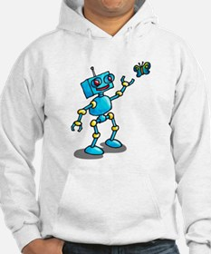 robot and butterfly comic life is beautiful Hoodie