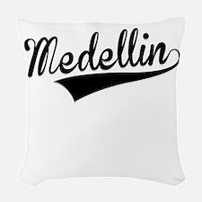 Medellin, Retro, Woven Throw Pillow