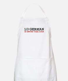 1/2 German Is Better Than None BBQ Apron