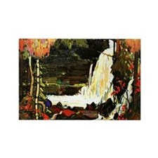 Tom Thomson - Woodland Waterfall Rectangle Magnet