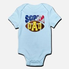 Super Dad USA 2 Body Suit