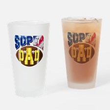 Super Dad USA 2 Drinking Glass