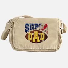 Super Dad USA 2 Messenger Bag