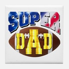 Super Dad USA 2 Tile Coaster