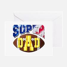 Super Dad USA 2 Greeting Cards