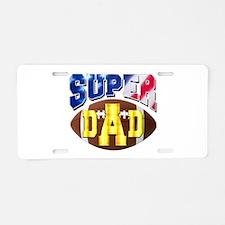 Super Dad USA 2 Aluminum License Plate