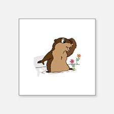 Groundhog Day Shadow Sticker