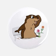 "Groundhog Day Shadow 3.5"" Button (100 pack)"