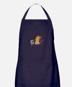 Groundhog Day Shadow Apron (dark)