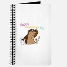 Happy Groundhog Day Journal
