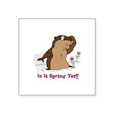 Is It Spring Yet Sticker