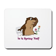Is It Spring Yet Mousepad