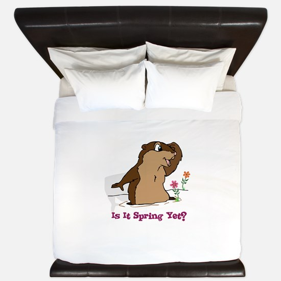 Is It Spring Yet King Duvet