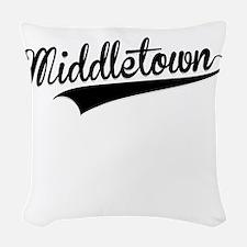Middletown, Retro, Woven Throw Pillow