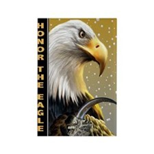 Honor The Eagle Magnets