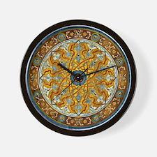 Harvest Moons Persian Medallion Wall Clock