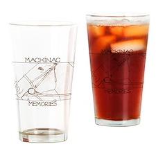 Horse on Mackinac Island 2 Drinking Glass