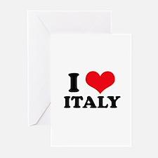 I Heart Italy Greeting Cards (Pk of 10)