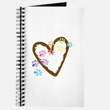 paw hearts Journal