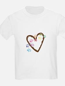 paw hearts T-Shirt