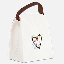 Lucky dog Canvas Lunch Bag