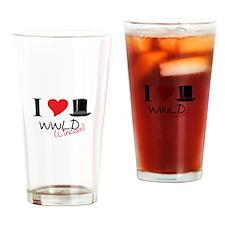 WWLD( Lincoln) Drinking Glass