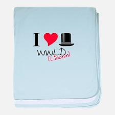 WWLD( Lincoln) baby blanket