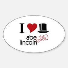 Abe (The Babe) Lincoln Decal