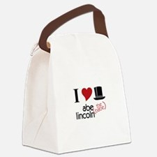 Abe (The Babe) Lincoln Canvas Lunch Bag