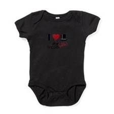 Abe (The Babe) Lincoln Baby Bodysuit