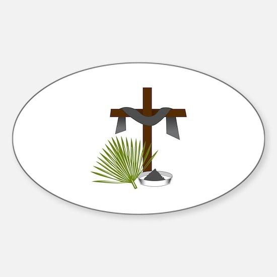 Forgiveness Cross Decal