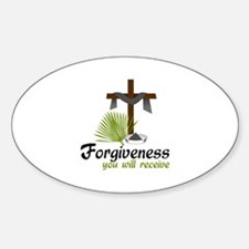 Forgiveness You Will Receive Decal