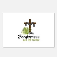 Forgiveness You Will Receive Postcards (Package of