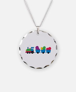 Jelly Bean Train Necklace