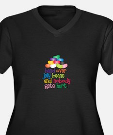 Hand Over Jelly Beans Plus Size T-Shirt