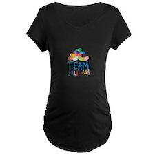 Team Jelly Bean Maternity T-Shirt