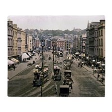 Vintage - Cork, Ireland Throw Blanket