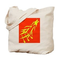 red dragon flying Tote Bag