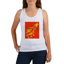 red dragon flying Women's Tank Top