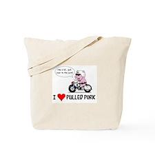 I Heart Pulled Pork Tote Bag