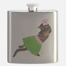 Hula Cat Flask