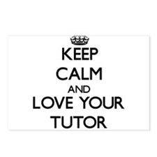 Keep Calm and Love your Tutor Postcards (Package o