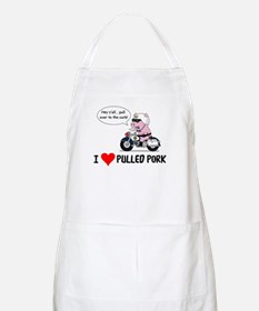 I Heart Pulled Pork Apron