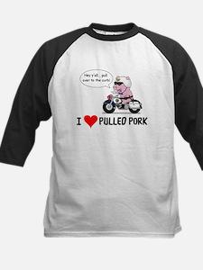 I Heart Pulled Pork Baseball Jersey