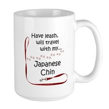 Japanese Chin Travel Leash Mug