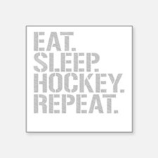 Eat Sleep Hockey Repeat Sticker