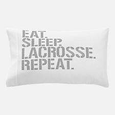 Eat Sleep Lacrosse Repeat Pillow Case