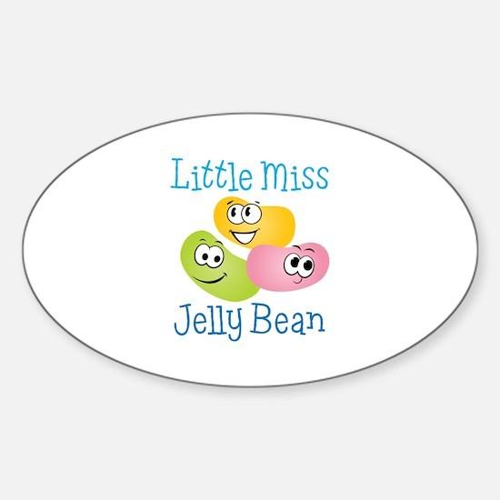 Little Miss Jelly Bean Decal