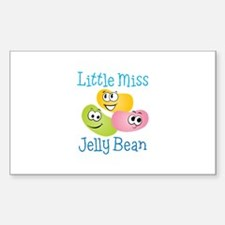 Little Miss Jelly Bean Decal